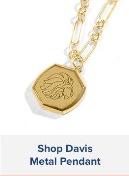 Davis Metal Pendant