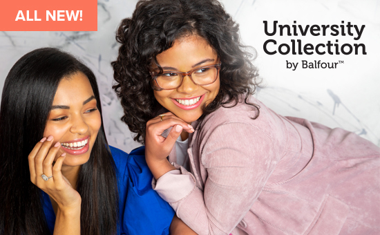 Celebrate your University or future University, with the University Collection; shop now