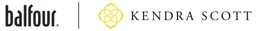Balfour and Kendra Scott logos