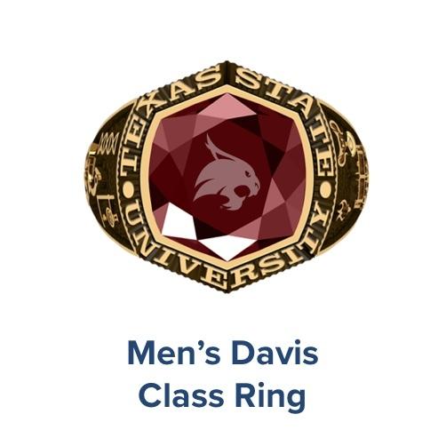 Men's Davis, Class Ring