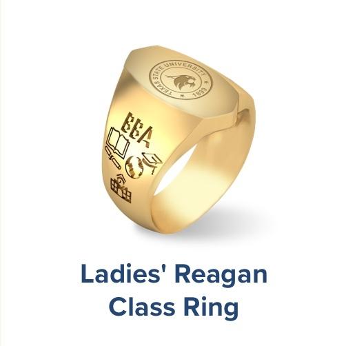 Ladies Reagan, Class Ring