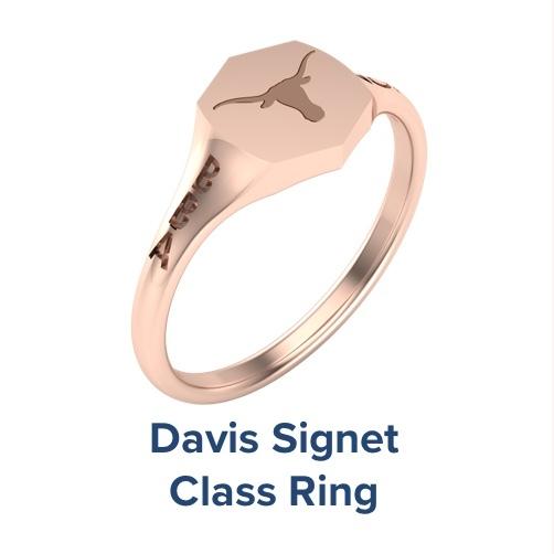 Davis Signet, Class Ring