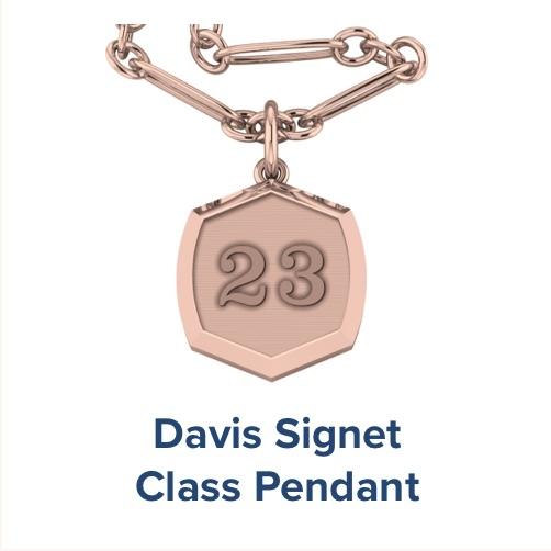 Davis Signet, High School ; Class Pendant