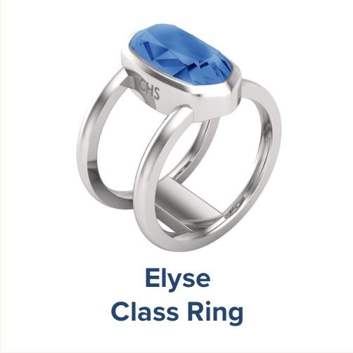 Elyse, High School ; Class Ring