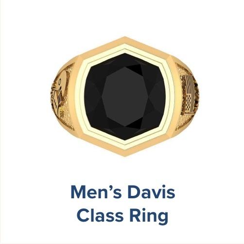 Men's Davis, High School ; Class Ring
