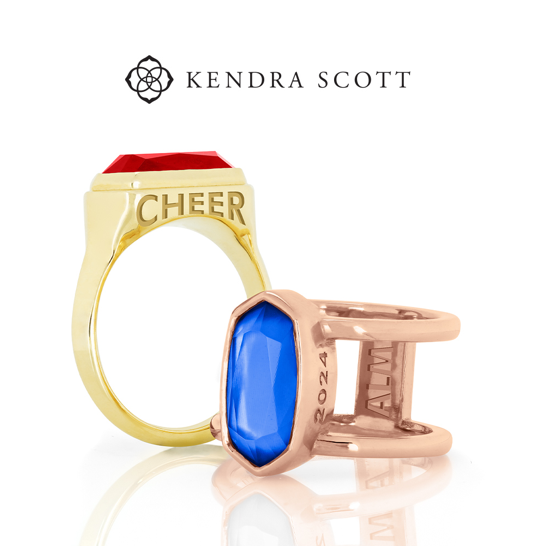 A group of Kendra Scott rings