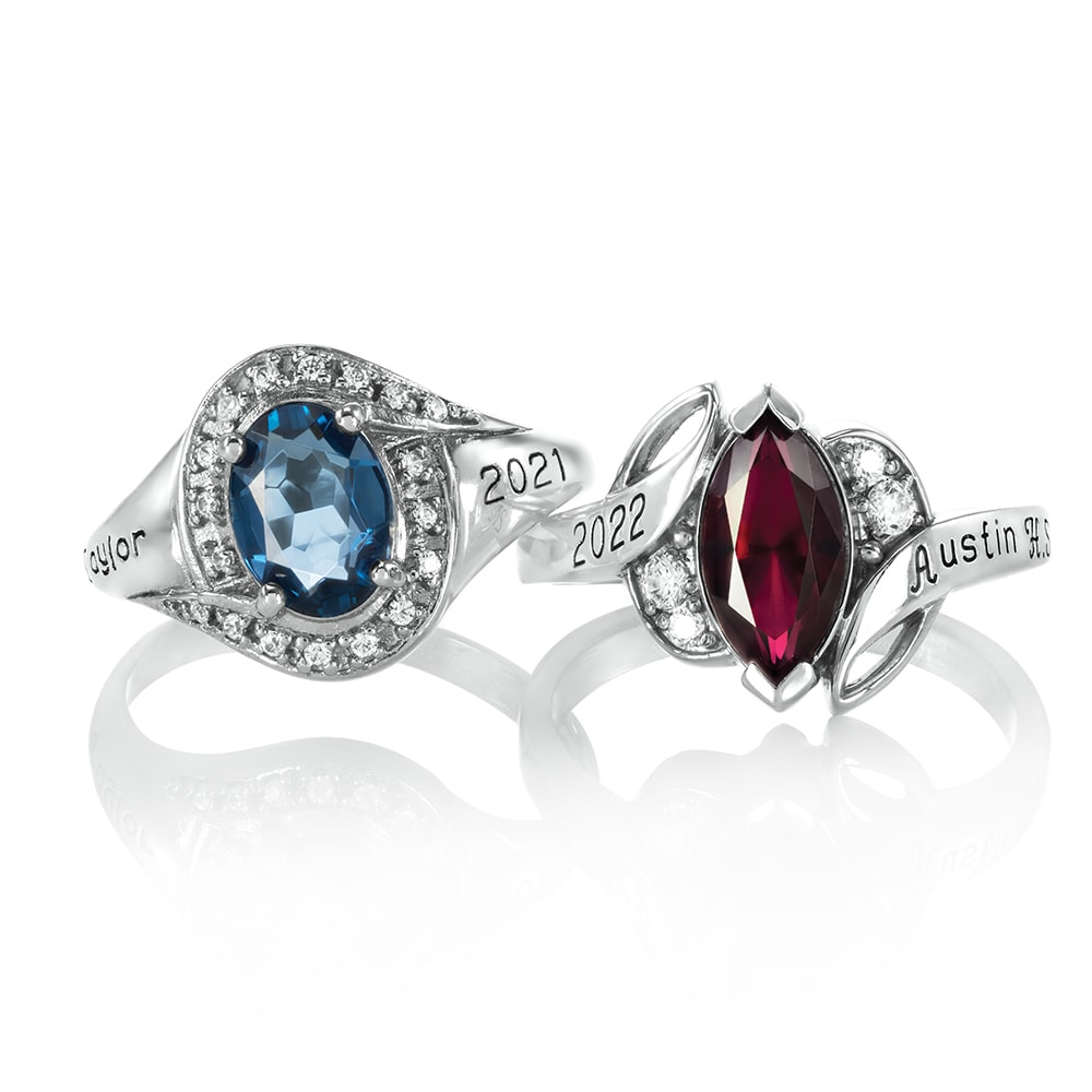 Two essence collection, rings