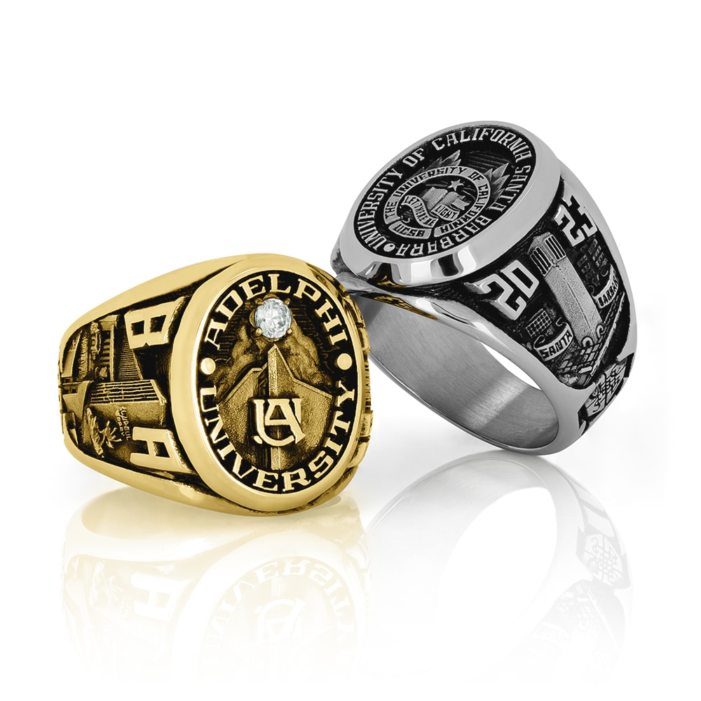 two, honor rings