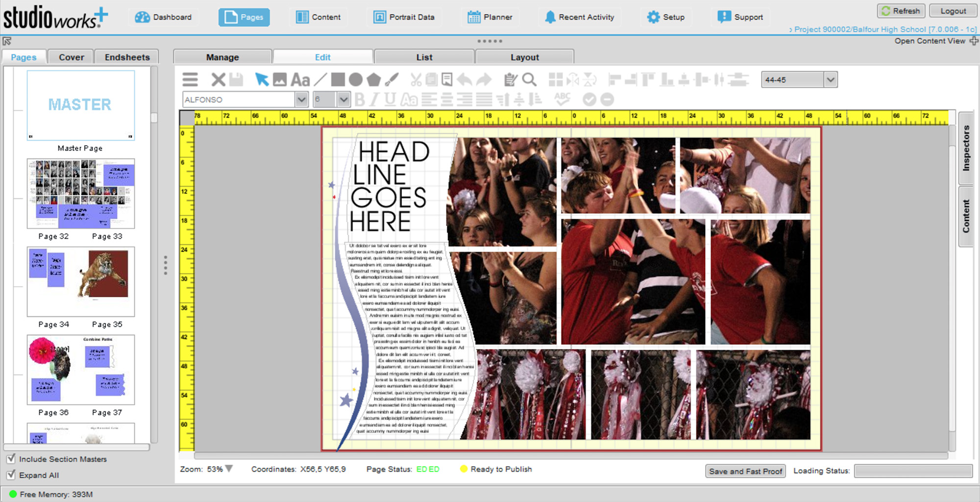 Plan, Organize and Create Awesome Yearbooks: StudioWorks+ | Balfour ...